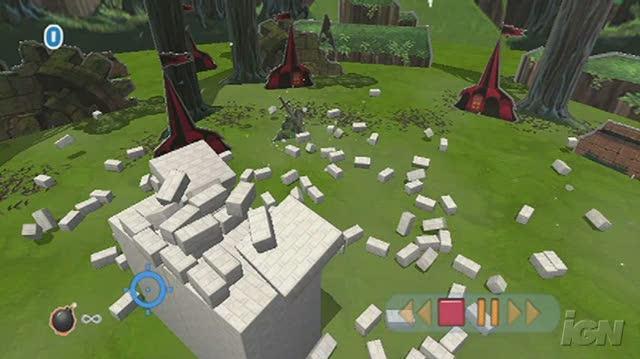 Boom Blox Nintendo Wii Video - Created Level 4 Random Insanity