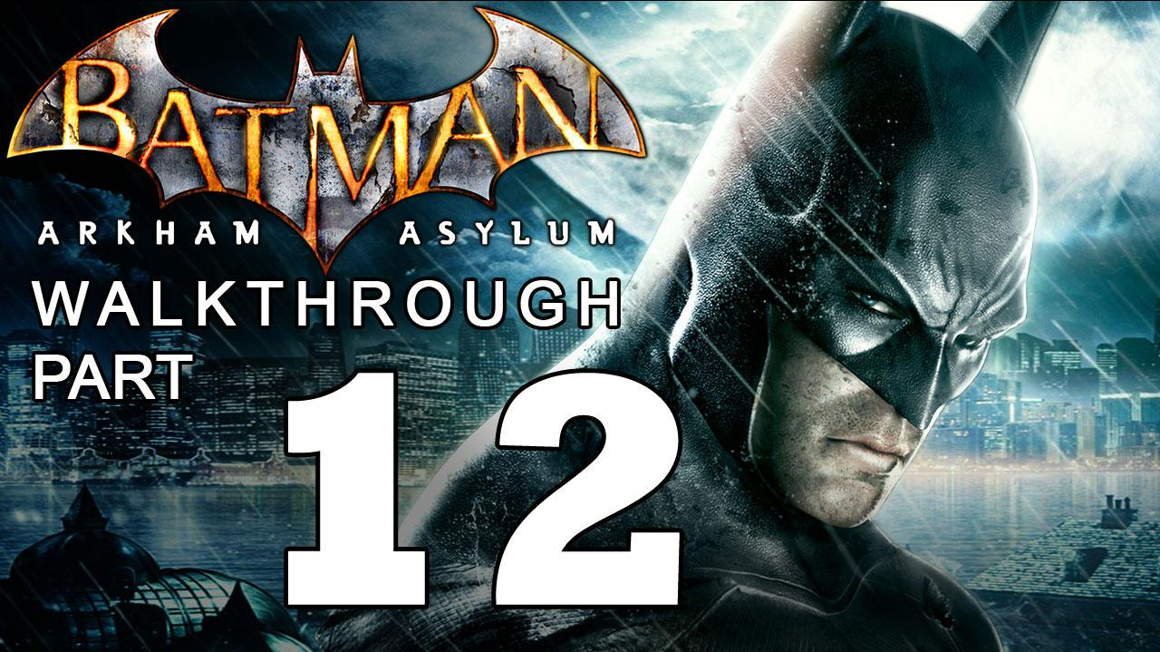 Batman Arkham Asylum Walkthrough Part 12 of 14 Titan in the Elevator