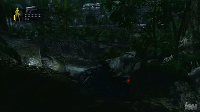 Tomb Raider Underworld PlayStation 3 Gameplay - Motorcycle Ride