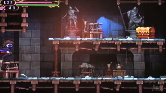 Castlevania Order of Ecclesia Nintendo DS Gameplay - TGS 2008 Zombie Attack (Off Screen)
