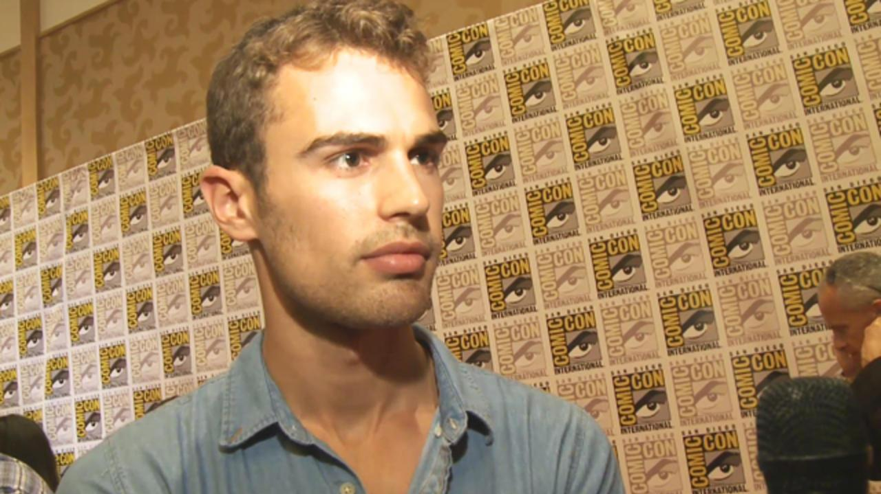Comic-Con Underworld Awakening - Theo James