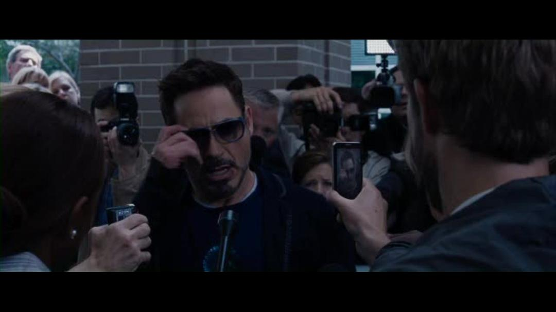 Iron Man 3 Clip - Tony Calls Out Mandarin