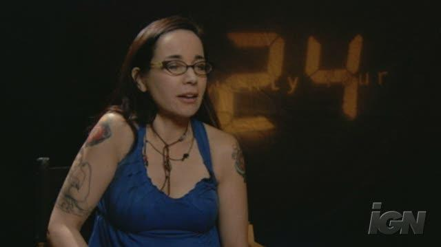 24 TV Interview - Janeane Garofalo