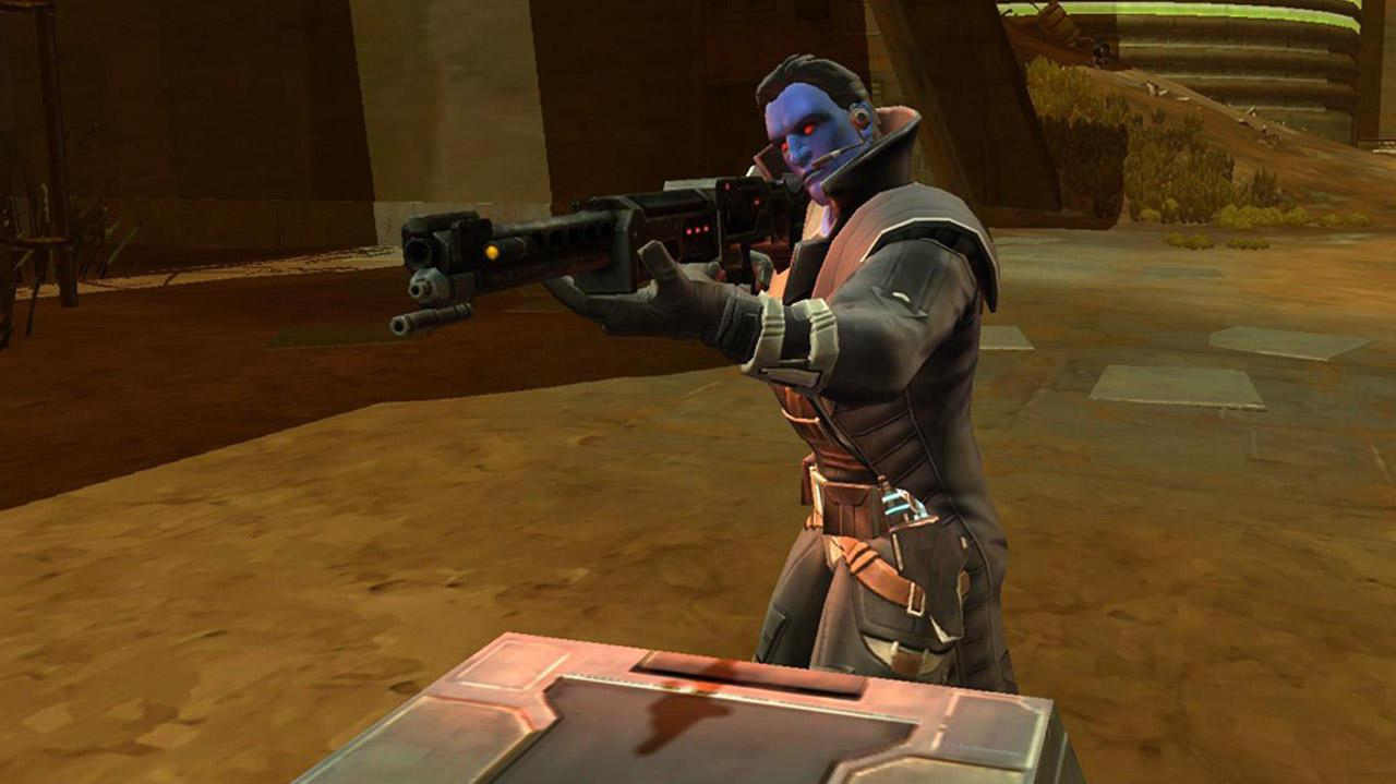 Star Wars The Old Republic Smuggler Video