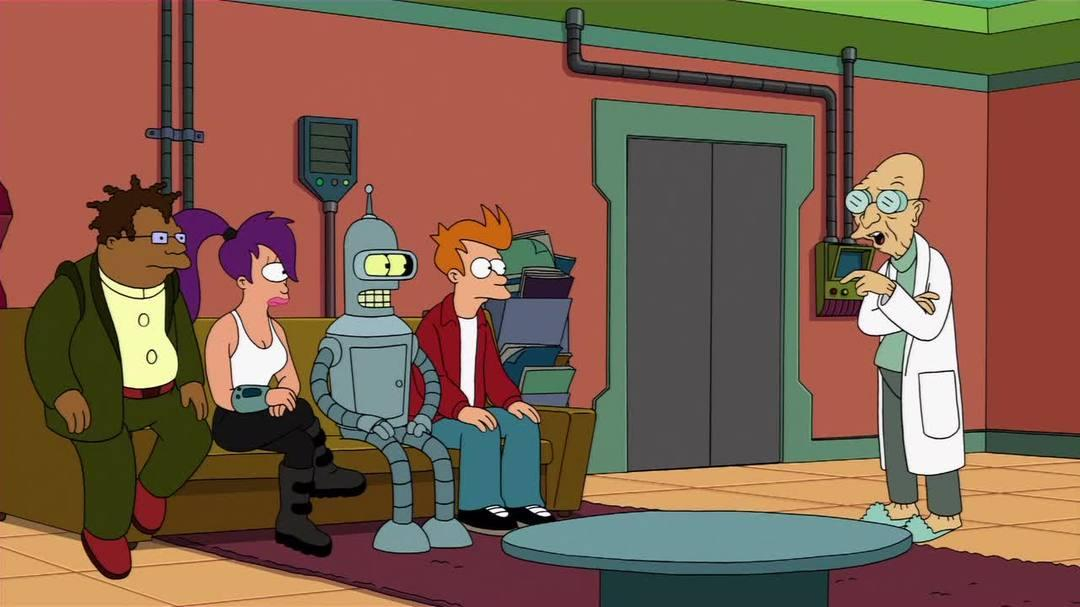 "Futurama Volume Eight Blu-ray DVD - ""Calculon"" Clip"