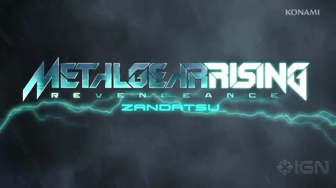 Metal Gear Rising Revengeance - Zandatsu Gameplay