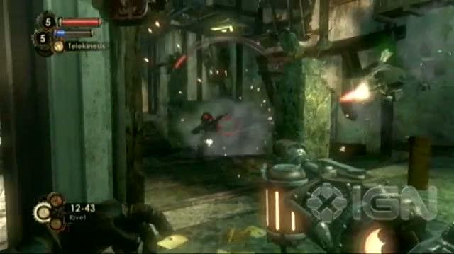 BioShock 2 Xbox 360 Guide-Walkthrough - Walkthrough Big Daddy Fight in Pauper's Drop 2