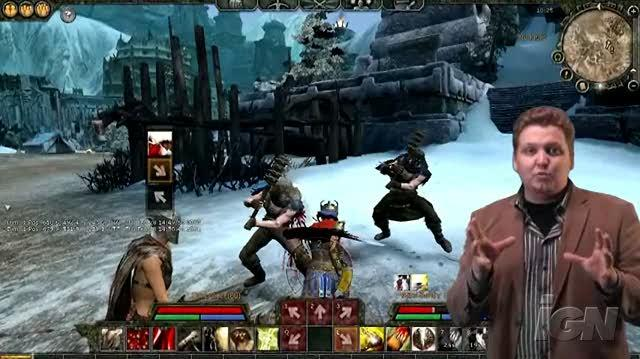 Age of Conan Hyborian Adventures PC Games Gameplay - Combat Training