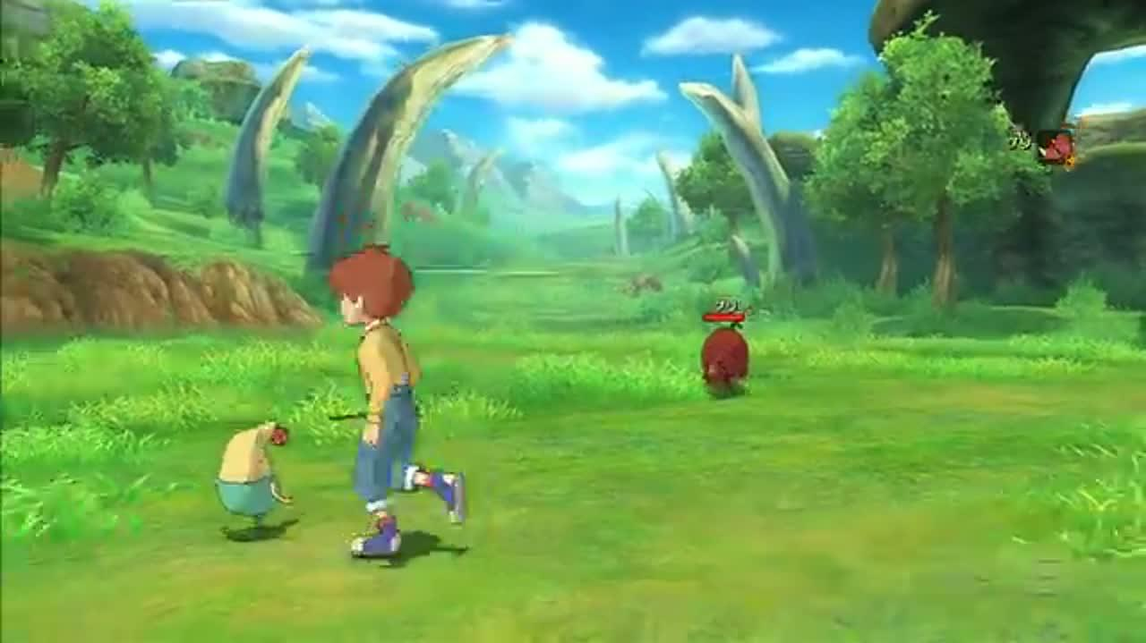 Ni No Kuni Exploring the World Map