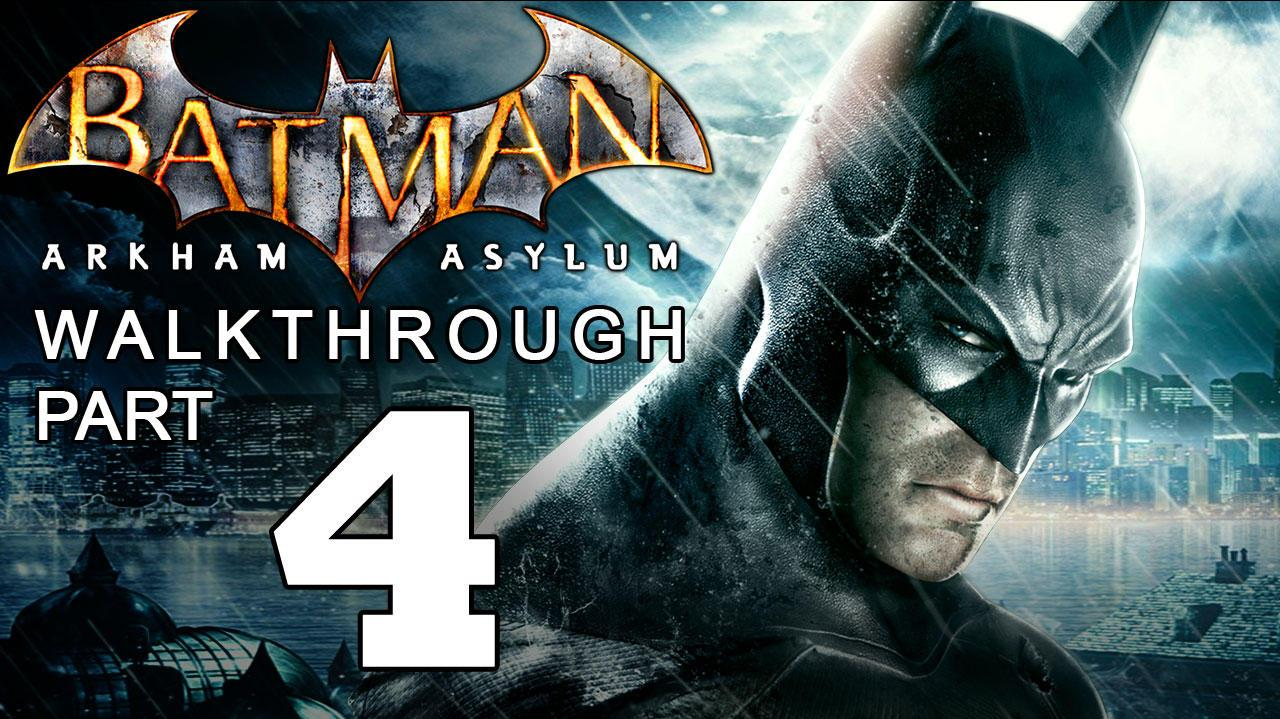Batman Arkham Asylum Walkthrough Part 4 of 14 Scarecrow and the Morgue
