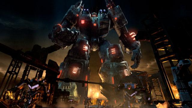 Transformers Fall of Cybertron - Cinematic Trailer - E3 2012