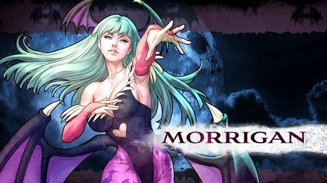 Darkstalkers Resurrection Morrigan Moves List