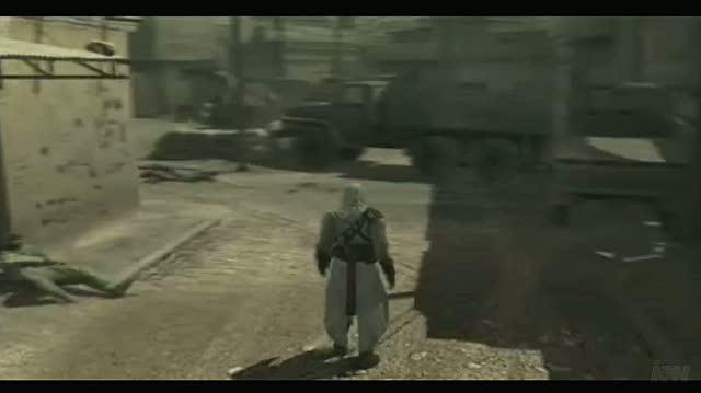 Metal Gear Solid 4 Guns of the Patriots PlayStation 3 Video - Konami Assassin's Solid