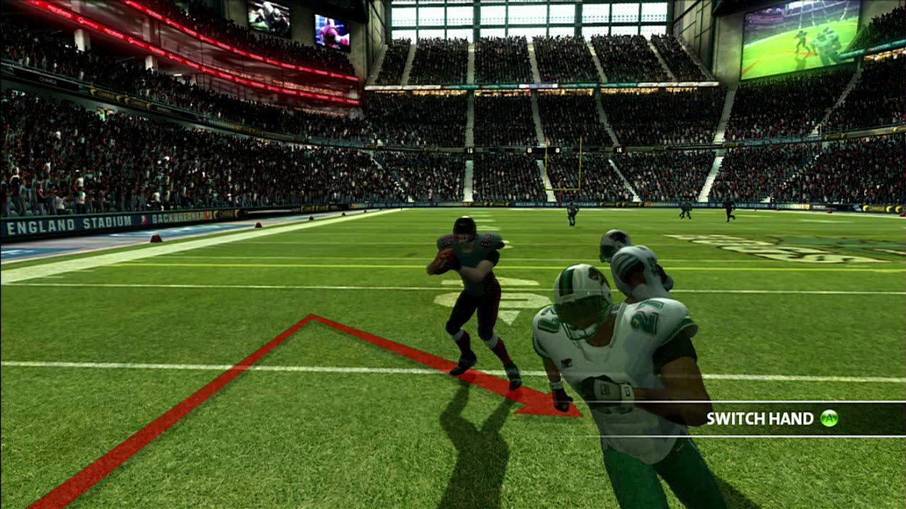 Backbreaker Offensive Gameplay Clip