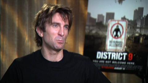 "District 9 (2009) - Interview Sharlto Copley ""On Wilkus' job"""