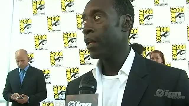 Iron Man 2 Movie Interview - SDCC 09 Don Cheadle