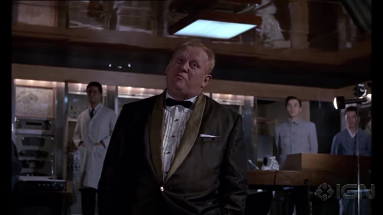 Bond 4 Laser Surgery (Goldfinger)