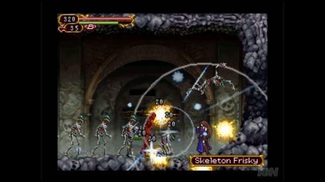 Castlevania Order of Ecclesia Nintendo DS Trailer - GC 2008 You Dance Well