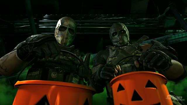 Army of Two The 40th Day Xbox 360 Trailer - Halloween Trailer