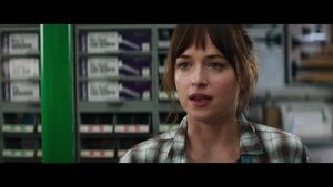 """Fifty Shades of Grey - """"Christian Surprises Ana"""" Clip"""