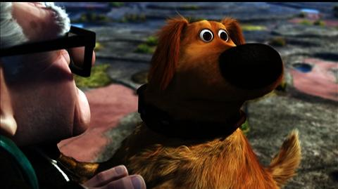 Up 3D BD (2009) - Bonus Clip Talking Dogs