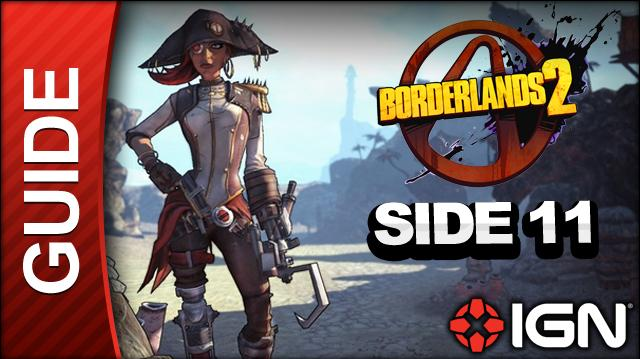 Borderlands 2 Captain Scarlett and Her Pirate's Booty DLC Walkthrough - Message in a Bottle Oasis - Side Missions (Part 11)