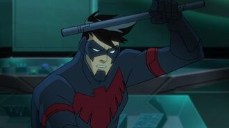 "Batman Unlimited Animal Instincts - ""Nightwing Cheetah"" Clip"
