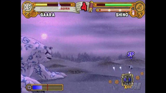 Naruto Ultimate Ninja 3 PlayStation 2 Trailer - Gaara