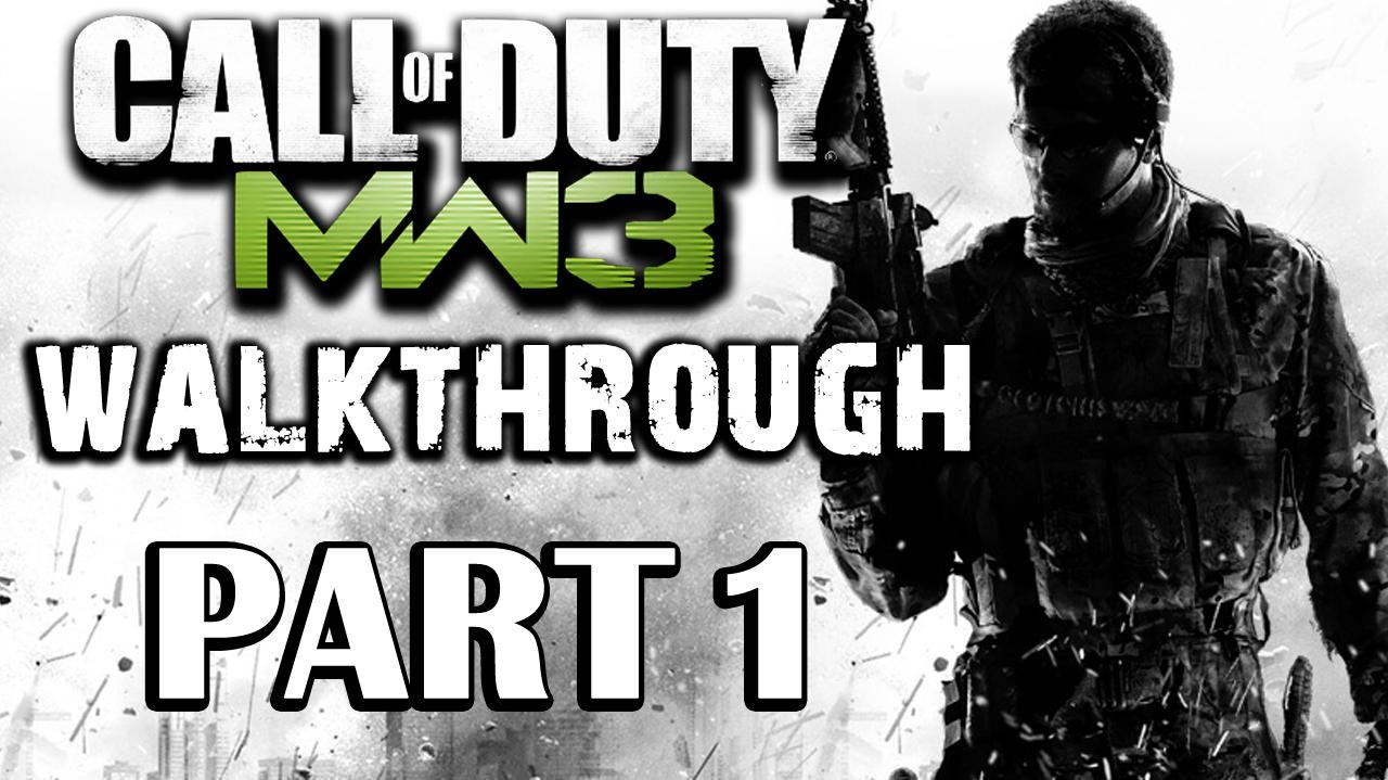 Call of Duty Modern Warfare 3 Walkthrough - Prologue