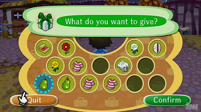 Animal Crossing City Folk Nintendo Wii Gameplay - Halloween