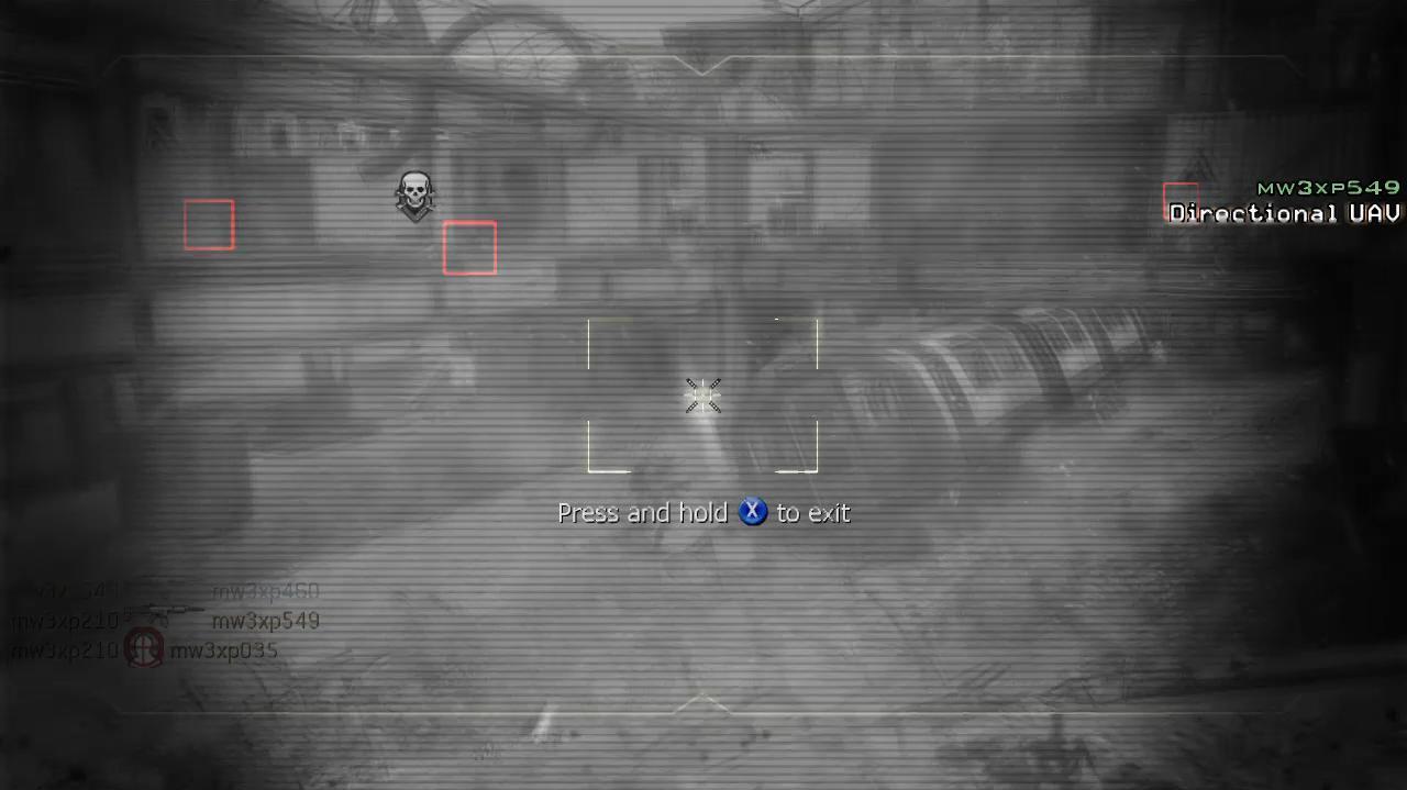 Call Of Duty Modern Warfare 3 - Team Death Match Underground Turret