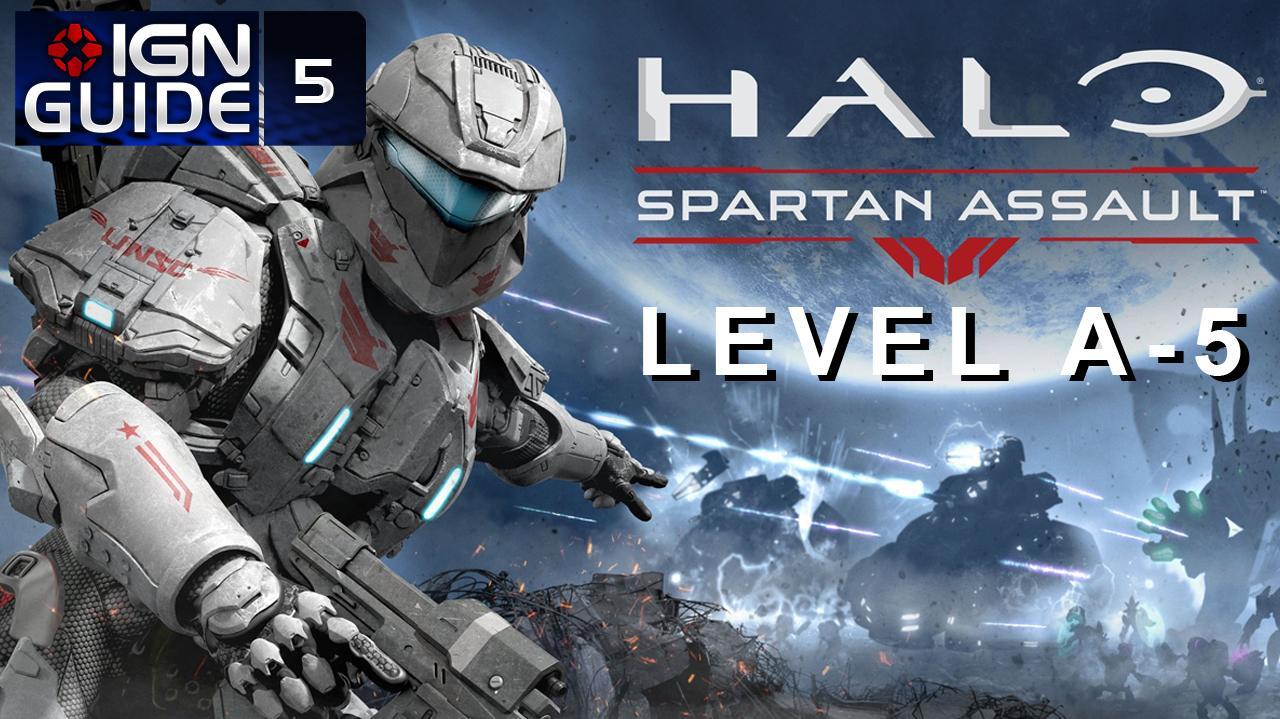 Halo Spartan Assault Walkthrough - Level A-5 (Part 5)