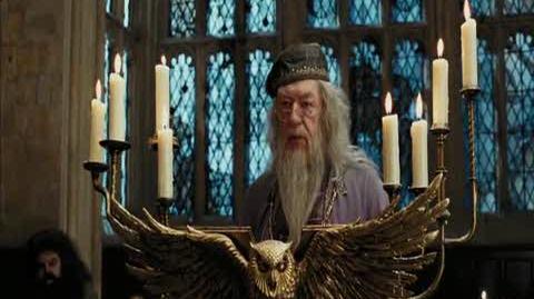 Harry Potter and the Prisoner of Azkaban - Dumbledore's warning