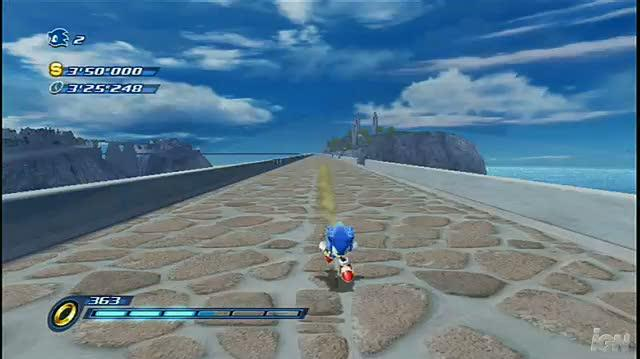 Sonic Unleashed Nintendo Wii Gameplay - Apotos
