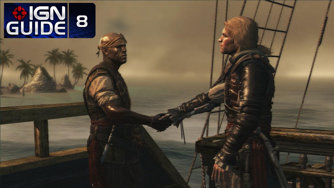 Assassin's Creed 4 Walkthrough - Sequence 02 Memory 06 The Treasure Fleet