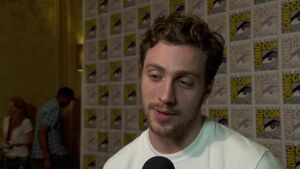 Avengers Age of Ultron - Aaron Taylor-Johnson SDCC 2014 Interview
