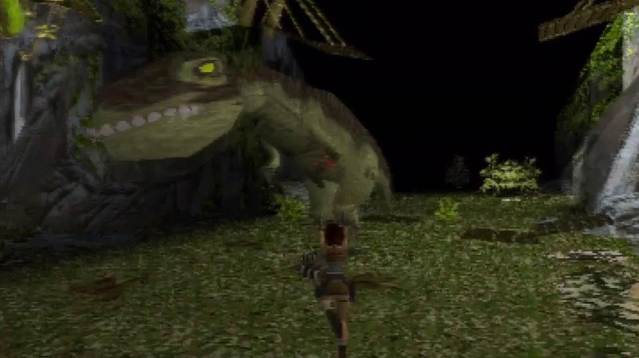 Image result for tomb raider 1 t rex