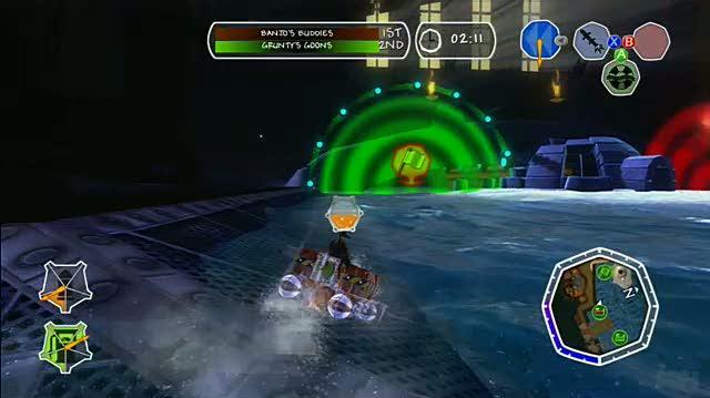 Banjo-Kazooie Nuts & Bolts Xbox 360 Gameplay - Boating