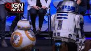 Check Out the New R2-D2 and BB-8 Droid - IGN News