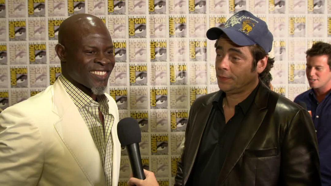 Guardians of the Galaxy Comic-Con 2013 Interview - Djimon Hounsou & Benicio del Toro