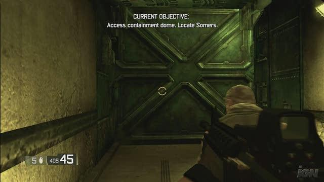 BlackSite Area 51 Xbox 360 Gameplay - Open That Door and Watch For Pop-In