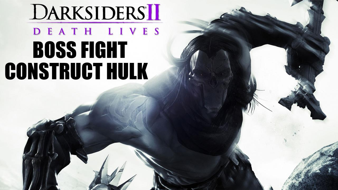 Darksiders II Boss Fight Construct Hulk - Gameplay