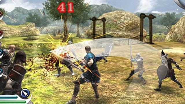 Hack-and-Slash in Valhalla Knights 3 on PS Vita