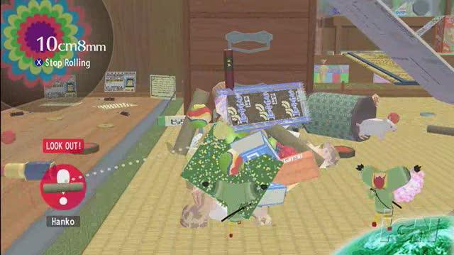 Beautiful Katamari Xbox 360 Gameplay - Sayonara Rolling Star