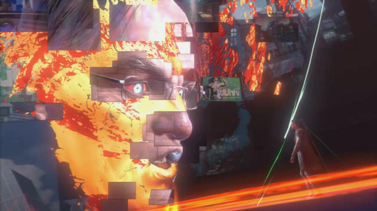 DmC - Bad News Bob Barbas Boss Battle - Gameplay