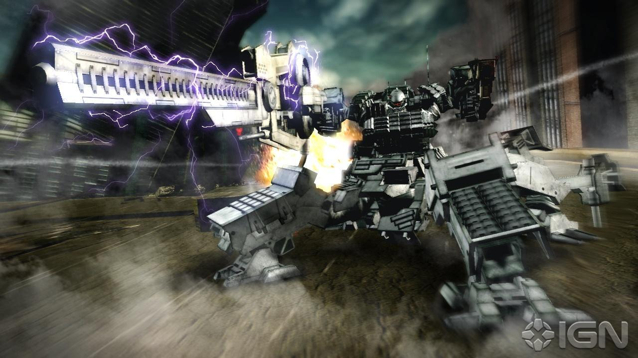 Gamescom Armored Core V Trailer