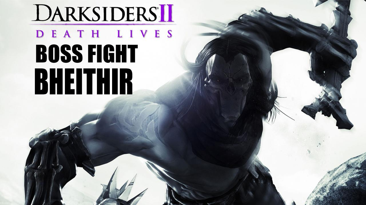 Darksiders II Boss Fight Bheithir - Gameplay