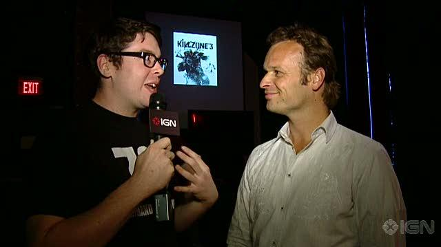 Killzone 3 PlayStation 3 Interview - Hermen Hulst Video Interview