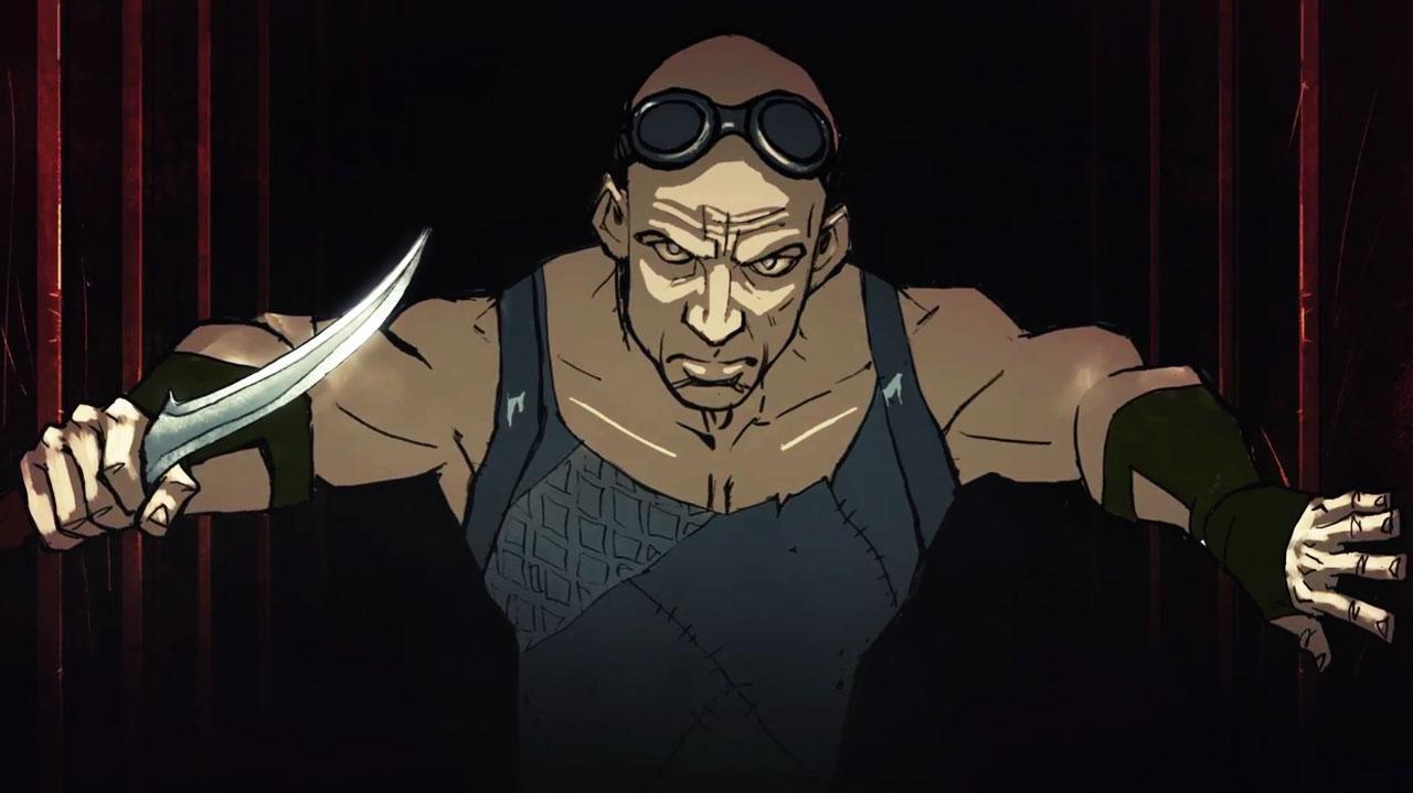 Riddick The Merc Files - Mobile Game Teaser