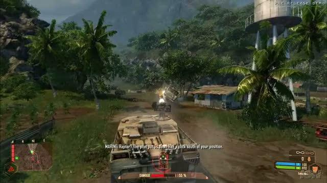 Crysis Warhead PC Games Gameplay - E3 2008 Max Speed
